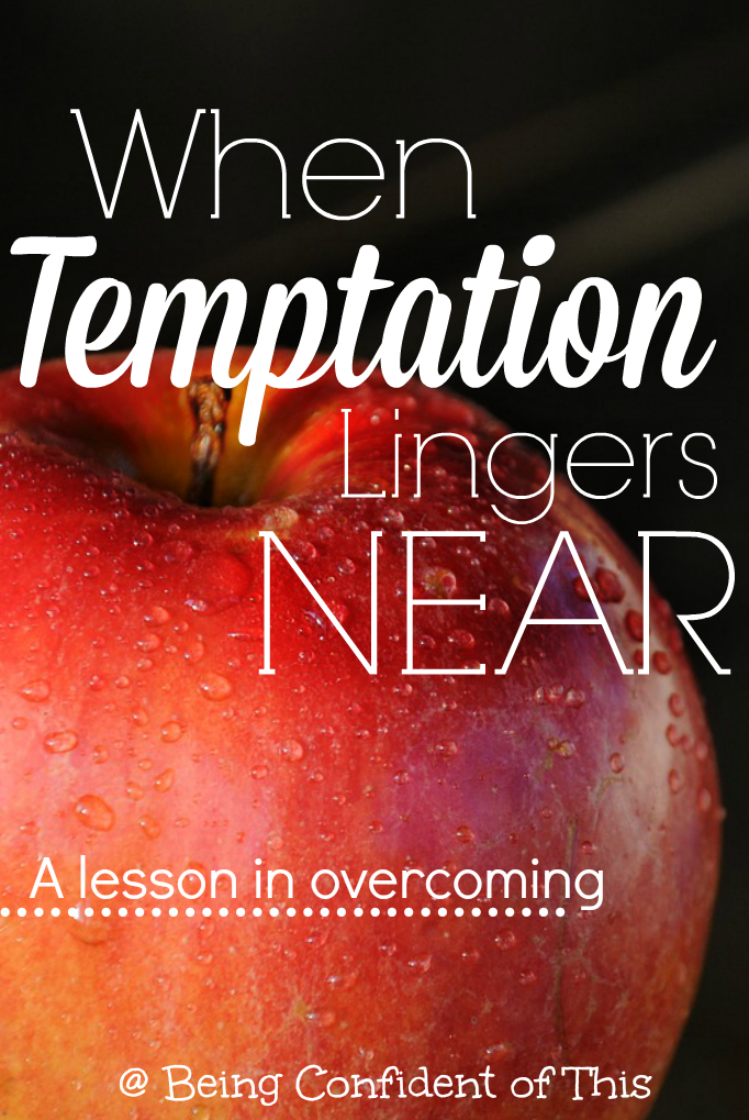 Life is difficult; marriage is difficult; parenting is difficult. And just when we decide to make changes in our lives, the enemy strikes even harder. And we face even greater temptation. Find out how to overcome when temptation lingers near.