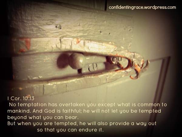 """Just when we've decided to make changes in our lives, then the enemy strikes hardest! A little story about temptation and finding a way out. """"It's almost supper time, but the stove top sits empty and no pleasing aromas fragrance the air ..."""""""