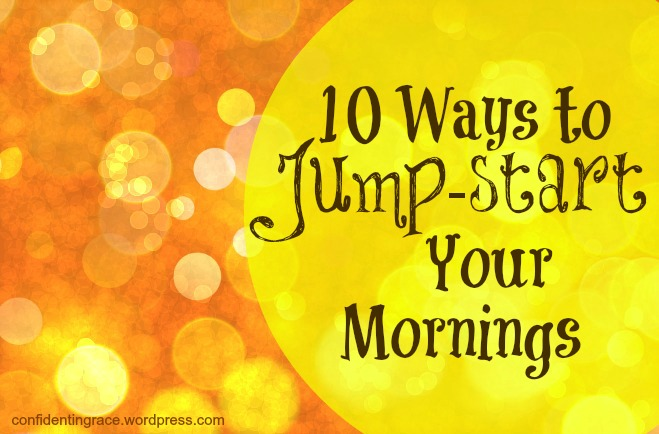 Some days just start out tough from the very beginning. Here's practical advice on how to overcome a bad start to the day!