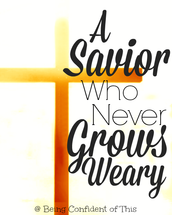 We usually think of Jesus's work in the past - his death on the cross. But Hebrews claims that He is a Savior who never grows weary, one who continues to intercede on our behalf!  Find out more about what this means for us today.