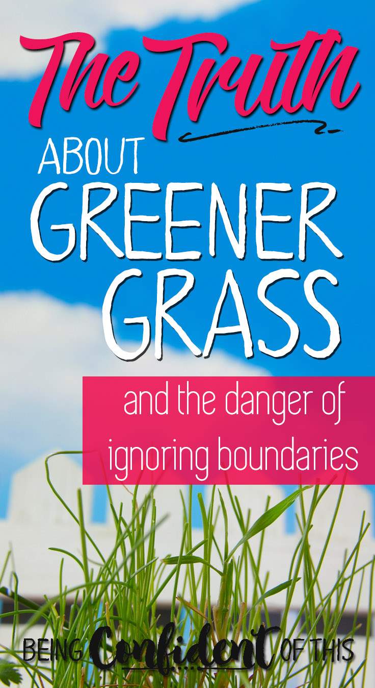 That movie that we really shouldn't watch, that book we shouldn't read, that person we shouldn't be with, that substance we so desire, all provide satisfaction that is only temporary at best, not forever paradise. Discover the truth about greener grass and the danger it brings!   Christian women, God's boundaries, God's moral law, consequences of sin, Christian encouragement, Bible study, devotional