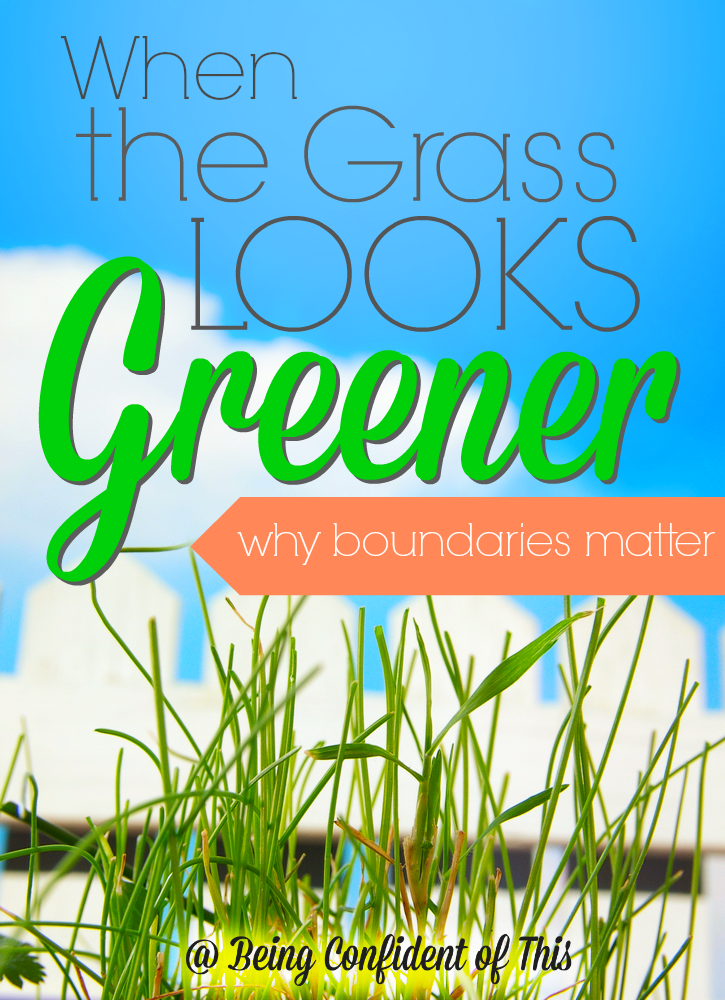 "Many times we fail to understand the protective nature of God's boundaries. Instead we see them as hindrances, obstacles to fun.  So, we seek the ""greener grass"" in life. But there is one surprising truth about that greener grass..."