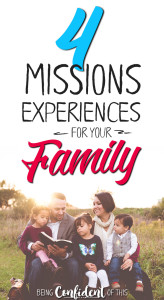 The best way to teach your family to be missions-minded is to experience world mission for yourselves! Here are 4 missions experiences for your family to consider. #missions #missionalfamily #parenting #family missions experiences for the family | misison trips for teens | missions trips for families | missions trips for kids | how to be more missional | church | world missions ||teaching kids about missions