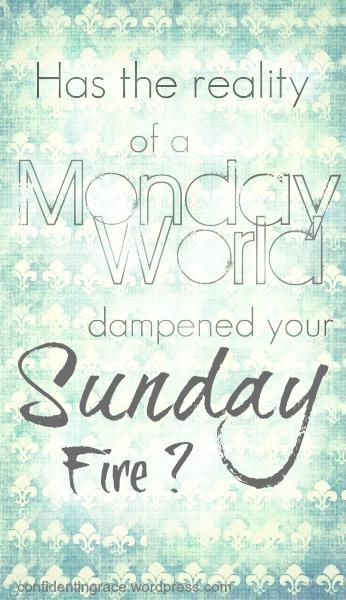 Sunday, Monday, identity in Christ, armor of God, chosen people