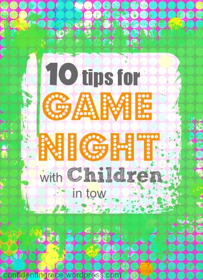 10 tips for Game Night