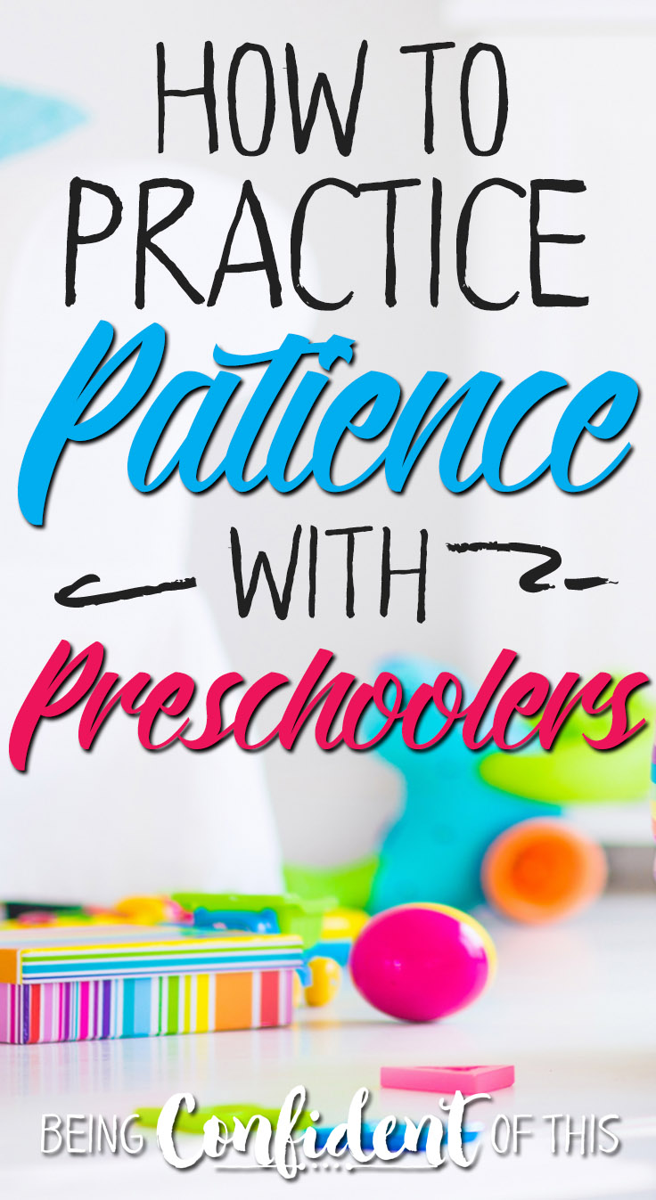 Preschoolers typically have short fuses and demand instant gratification, which is why we must intentionally teach them patience!  Use these kid-friendly methods to help your young child practice patience.     teaching preschoolers patience, how to handle impatient kids, teaching kids to be patient, modeling patience, 7 ways to teach patience, christian parenting, purposeful parenting, motherhood