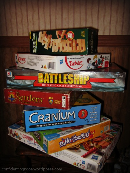 Not sure where to start with family game night?  Or maybe your go-to games are growing stale? Huge list of family-friendly games for all groups and ages!  Ideas for family game night, youth group, special events, neighborhood game night, preschool, AWANA, and more.