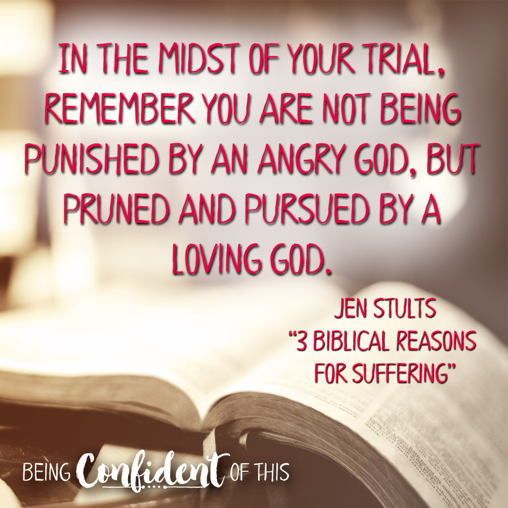 "In tough times, we are often tempted to ask God ""Why?"" Here are 3 biblical keys to understanding suffering. Bible study, christian women, hope in the midst of trials, suffering, discouragement, encouragement, devotional thought, why we suffer, the problem of suffering"