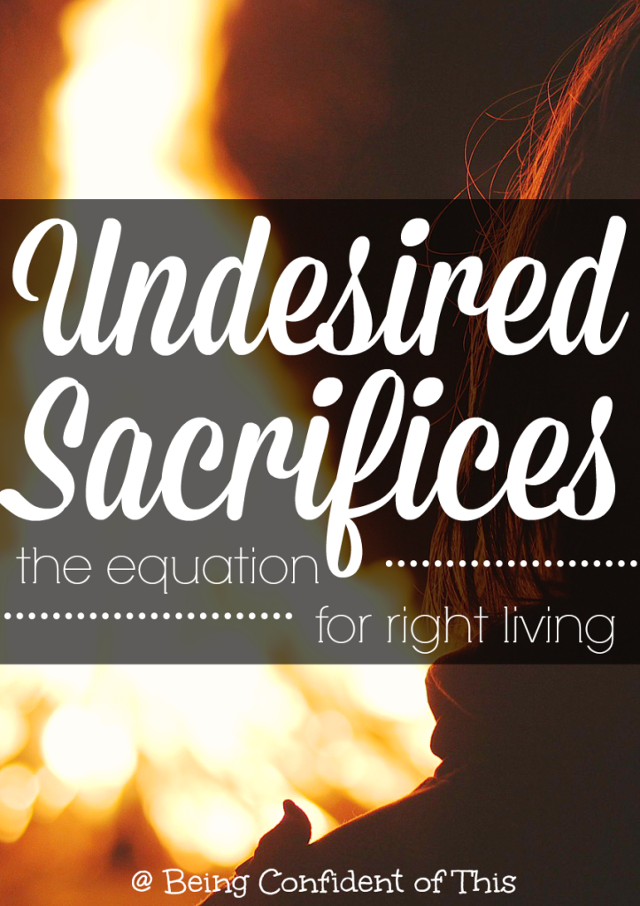 The early Hebrew Christians continued to offer sacrifices in spite of their belief in Christ. How often are we guilty of offering modern-day sacrifices instead of the thing God wants most?