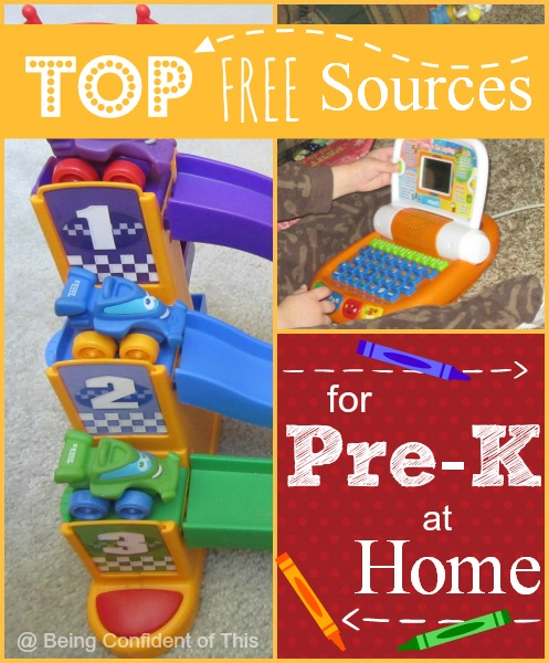 This huge list of free preschool resources will make homeschooling preschoolers so easy!  For teachers, parents, homeschoolers,  child care providers, etc.