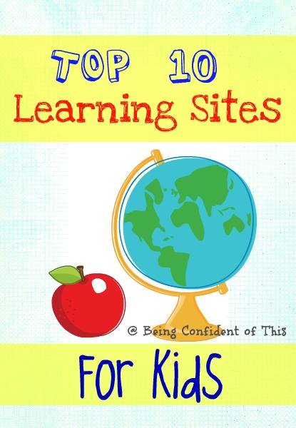 When our children spend time online, I like it to be as educational as possible. These top ten educational websites for kids make learning more fun!