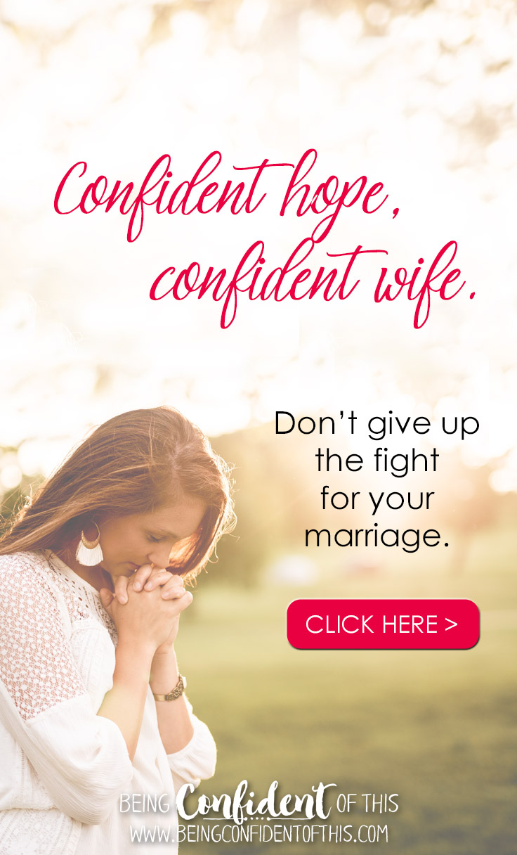 #marriage #marriagebook #faith #HopefortheHurtingWife Being Confident of This | feeling unloved | warrior wife | marriage struggles | marriage problems | marriage help | encouragement | hope | devotional for wives | Bible study | Christian women | Christian Living