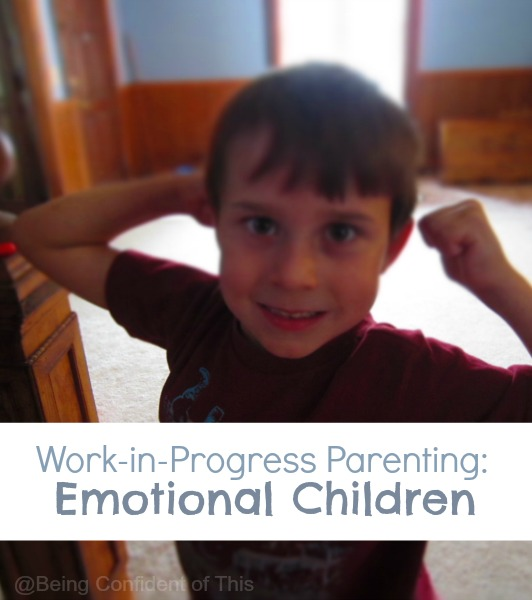 If you have a child with BIG emotions, you probably struggle with some parenting discouragement. What I learned from my angry child changed my perspective and helped me focus on the work in progress.!