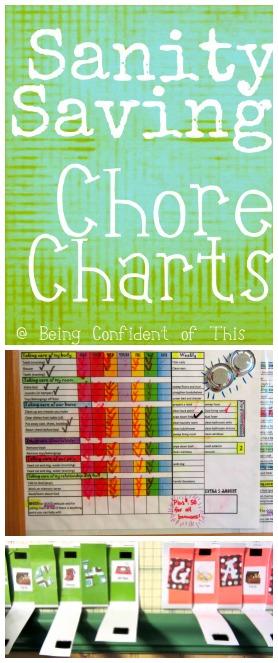 Sanity Saving Chore Charts
