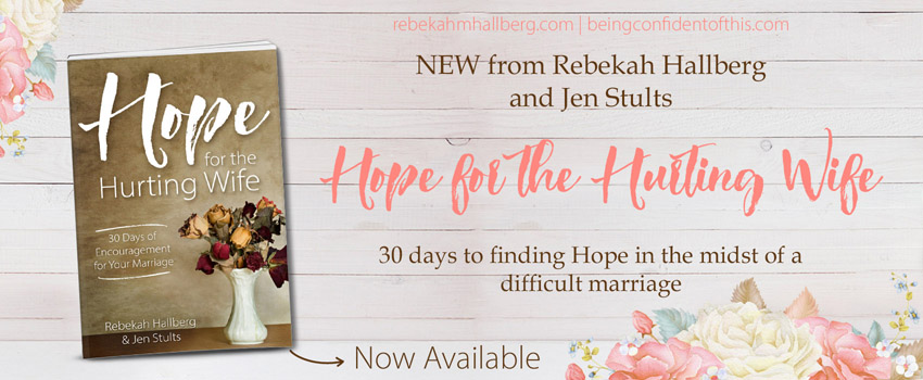 Are you frustrated by failure you in your marriage? Do you wonder if there is any hope left for you? Hope for the Hurting Wife is a 30 day devotional journey written by two women who survived the muck and mire of marriage problems. Christian marriage|difficult marriage|encouragement for wives|hope for marriage|should I get a divorce|how to stay married| healthy marriage|trusting God with marriage|wife|husband|christian woman