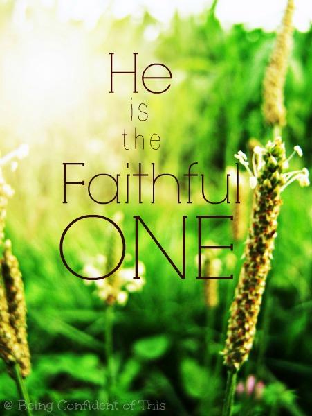 faithful one, Great is Thy Faithfulness
