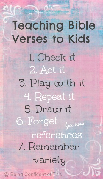 7 Creative Methods for Teaching Scripture to Children | Being ...