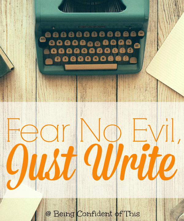This is why writing really scares us. Because the thing about writing is that it's sort of a portal to the soul, whether you want it to be or not.  A lie detector test.  A forced honesty of character and feeling. But we do write despite fear because Christ compels us!
