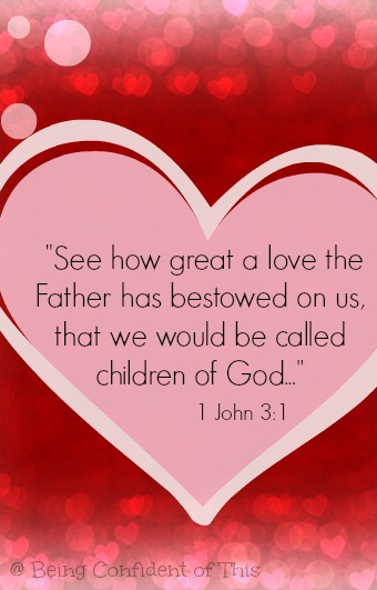 bedtime blessings, great love, God loves us, children of God