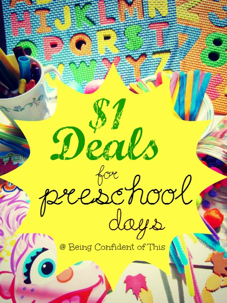 Here's a great big list of our favorite dollar store deals, as well as  ideas on how to use them for toddlers and preschoolers, whether you are homeschooling or just want some fun early childhood learning activities to keep the kids occupied.