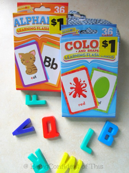 dollar store deals flashcards, cheap homeschool learning tools, frugal homeschooling