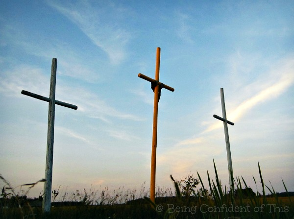 crosses, small town, #TheLoft, Indiana, Being Confident of This