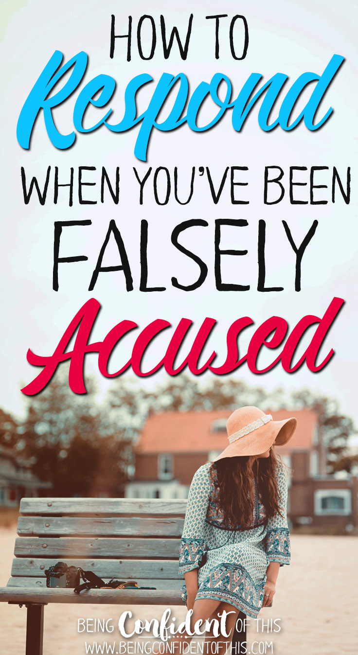 Being falsely accused is one of the most difficult injustices to bear. However, as Christians we are guaranteed a Defender. Read on to find out how... christian women|identity in Christ|overcoming past|overcoming guilt|encouragement|women of faith|bible study|devotional thought