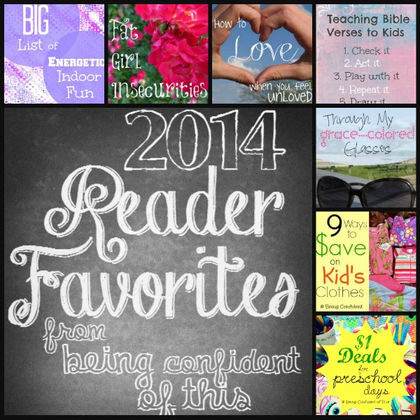 reader favorites 2014, Being Confident of This blog, top posts of 2014, number one posts, grace for the work-in-progress woman