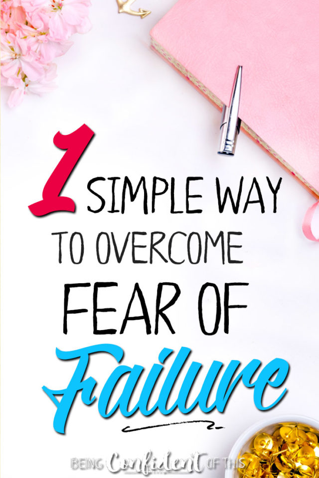 Does fear of failure get in the way of your goals? Here's how Christian women can find victory! #goals #godlywomen #overcome #settinggoals Being Confident of This | resources | goal setting tips | New Year | how to meet your goals | godly goals | God's will | discerning God's direction for my life | overwhelmed by big goals | overcoming fear | fear of failure | perfectionism | recovering perfectionist | Grace Goals