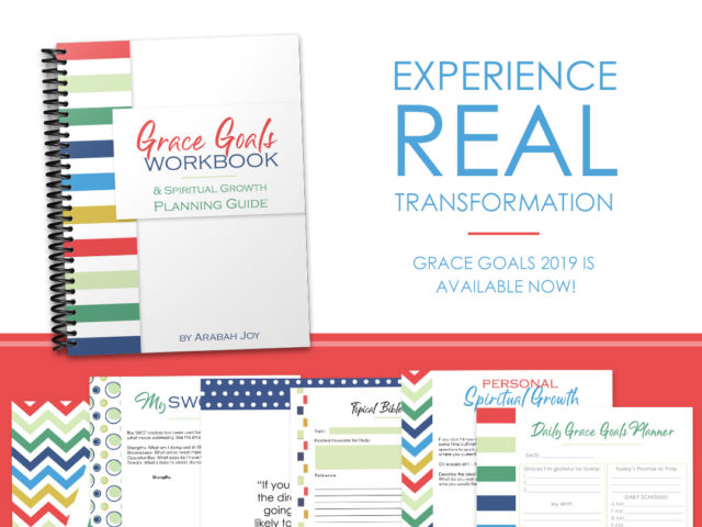 Are you desperate for change? Tired of feeling defeated? Don't let fear of failure hold you back any longer - learn how to meet your goals with God's help! #gracegoals #change #workinprogresswomen
