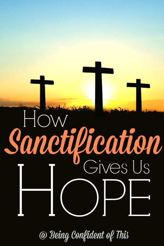 Big gospel words like sanctification can be slightly intimidating.  Read here to find out why sanctification is so important and how it gives us great hope for today!