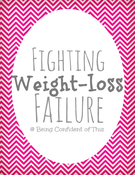 Once we fall off of the healthy wagon, it's all to easy to feel like a weight-loss failure.  How do we get back up again? Where do we turn for help?  Read here for some encouragement on your weight-loss journey!
