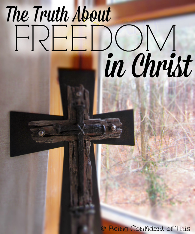 Often Christians use freedom in Christ as permission to be their own boss, make their own choices. But the truth about freedom in Christ is the great paradox of grace.