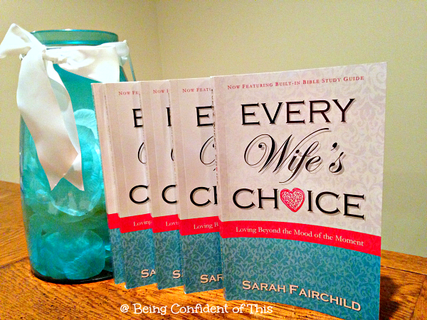"Every Wife's Choice by Sarah Fairchild teaches women how to choose love in spite of our fickle moods.  Combining humorous anecdotes with Greek word study, the author leads women to understand how to overcome the ""mood of the moment.""  Her applications of the First Corinthians love passage are both practical and biblical!"