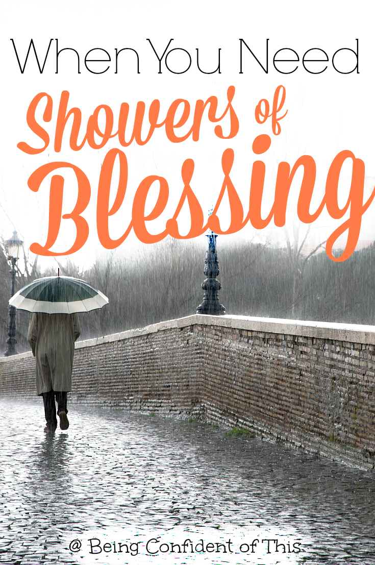 When needs arise, what is your first course of action? Often we neglect to ask for showers of blessing that our Heavenly Father is waiting to provide. What if we tried a different approach?