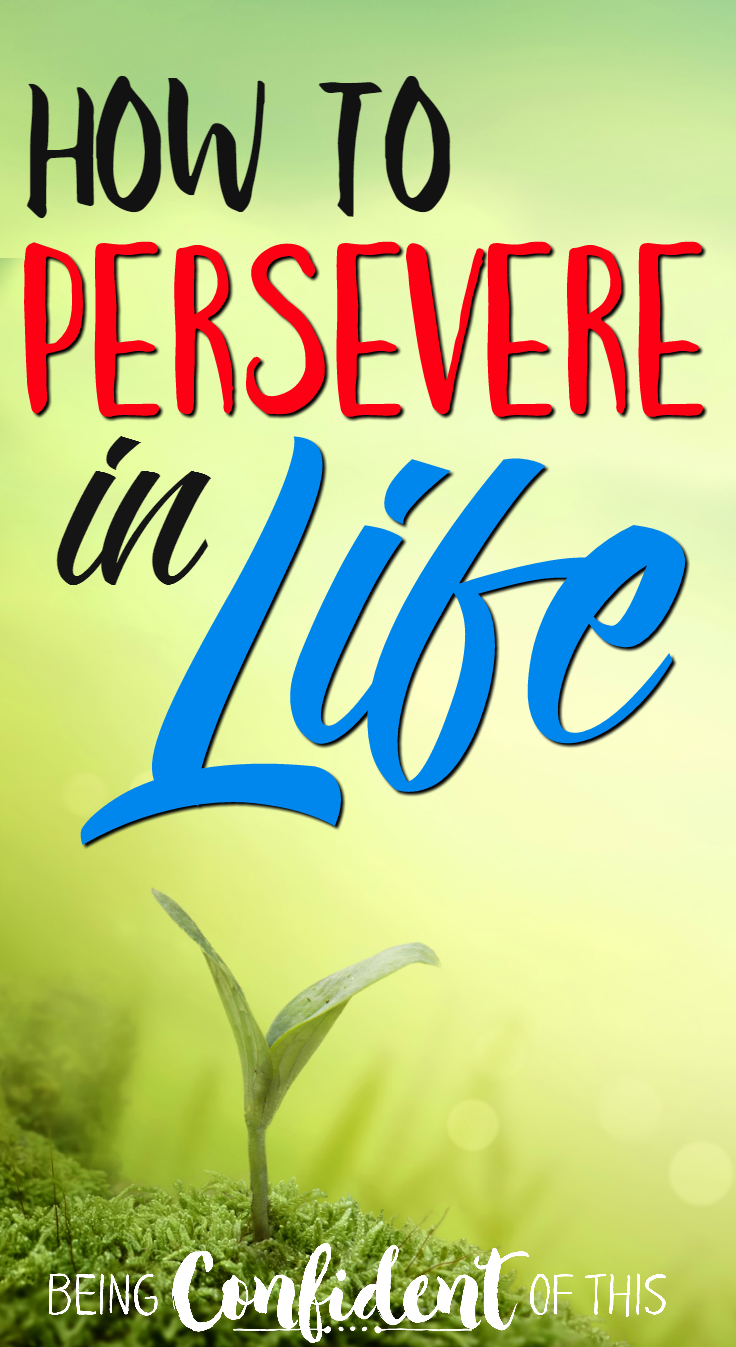 When God asks us to persevere in a life situation, it can sometimes feel like we're being sentenced to suffer.  However, according to scripture, persevering has some pretty fantastic benefits!  persevere in life, persevere in hard times, bible verses about persevering, persevering in faith, christian persevering