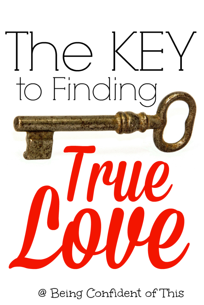 "Many people walk through this life searching for the cure for feeling unloved.  We believe that if we find ""the one"" then they will find love that lasts.  But it doesn't always work that way.  Finding true love that lasts isn't a simple task.  Read here for the missing key!"