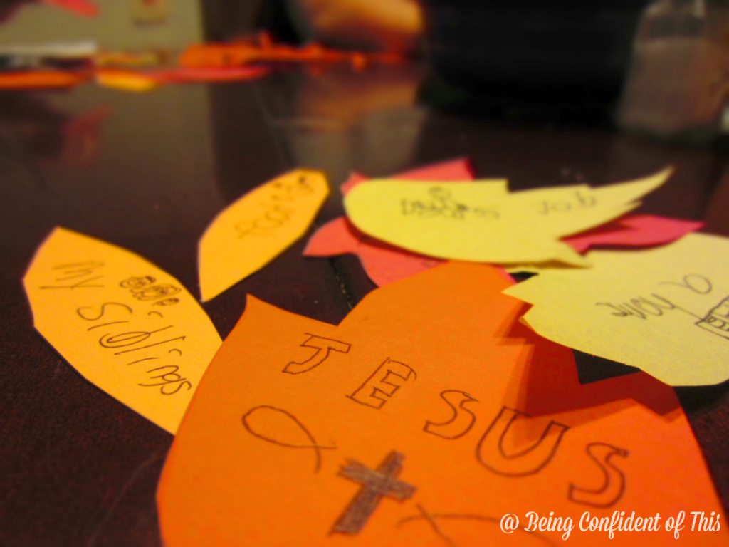 The Thanksgiving Tree is an fun way to mark the importance of this holiday. Kids will love making their own leaves of thanks and attaching them to the visual reminder of all that we have to be thankful for! Parents will appreciate the teaching opportunity.