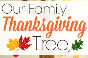 The Thanksgiving Tree is an fun activity to mark the importance of this holiday. Kids enjoy making their own leaves of thanks and attaching them to the visual reminder of all that we have to be thankful for! Parents, take advantage of this teachable moment.