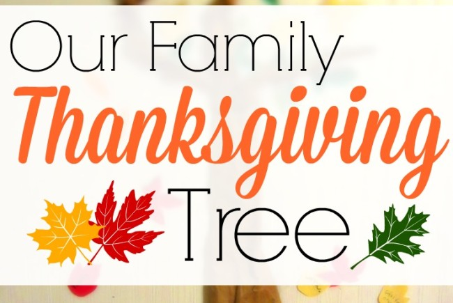 The Family Thanksgiving Tree