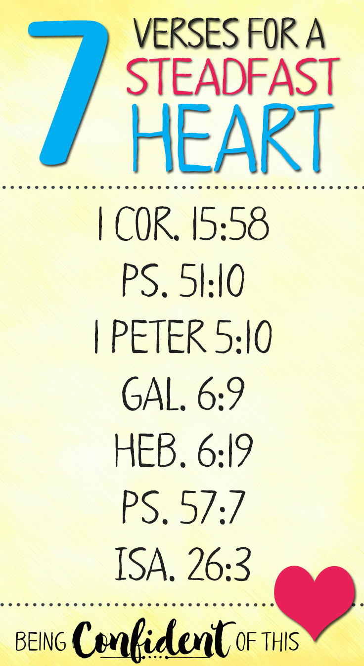 7 Verses for a Steadfast Heart