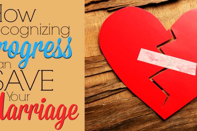 Learning to Recognize Progress Can Save Your Marriage