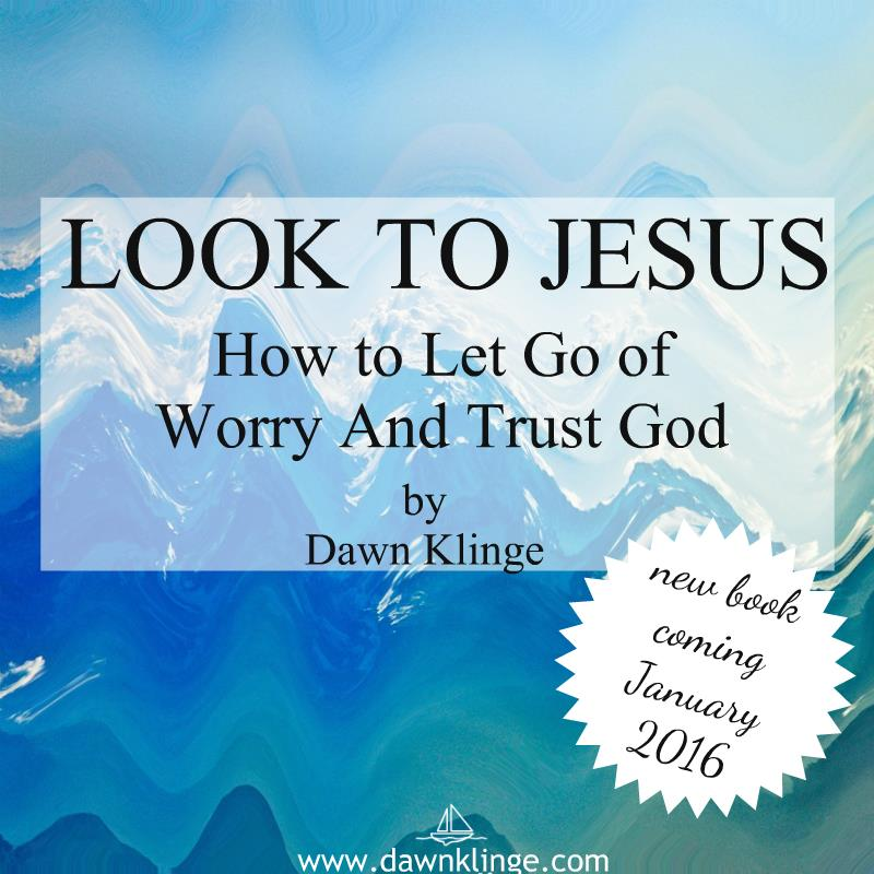 Dawn Klinge's new book, Look to Jesus, gently leads the reader to an understanding of how to trust God even during the painful trials of life.  Read here for a review and enter for your chance to win a copy of this new release!