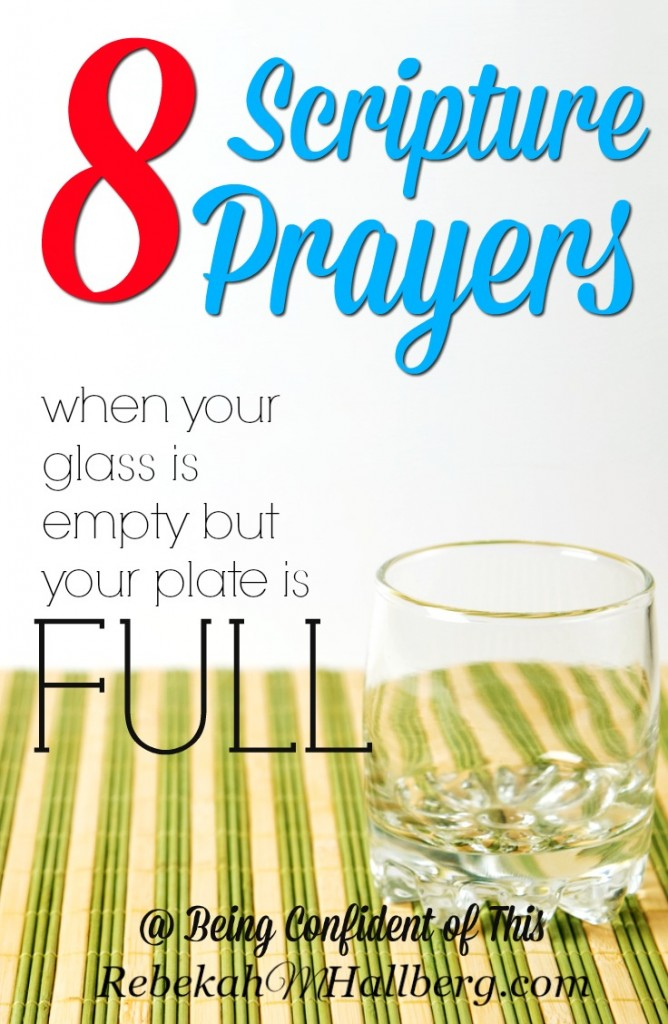When life gets the best of us and weariness is a constant companion, where will we turn?  Let these scripture-based prayers bring you strength and comfort.