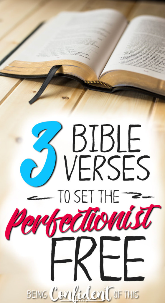 Perfectionism is one of the Enemy's greatest tools in keeping us from our freedom in Chirst! Use these verses to fight back agains the pull of perfectionism and remind yourself of your identity in Christ. #perfectionism #bibleverse #freeprintable #Christianwomen Bible study | deovtional | free printable | identity in Christ | abundant life | freedom in Christ | overcoming perfectionism | encouragement }Christian wife | Christian mom