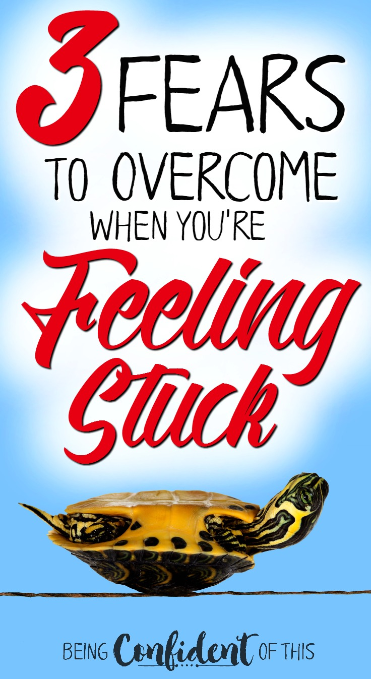 Fear. It keeps us feeling stuck, unable to move, to change, to succeed. Overcoming these 3 fears will help you move toward the goals you are desperate to reach!