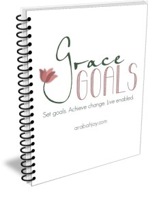 Are you frustrated and feeling stuck? Did you fail to meet last year's goals? Or perhaps you're not sure where to start in setting goals for next year?  Grace Goals is a biblical approach to goal setting that can take the fear right out of planning for success!