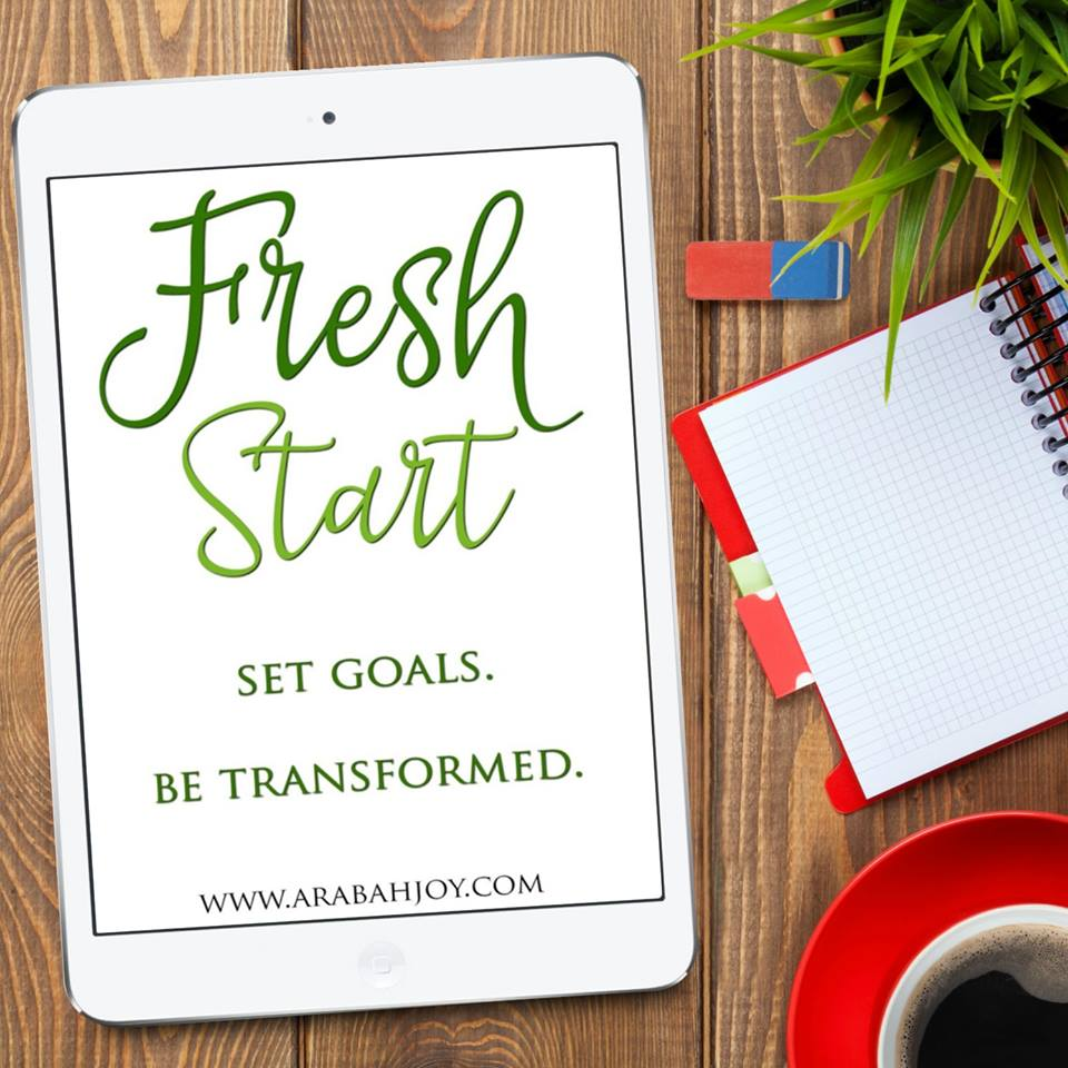 If this year wasn't quite what you planned, then you need a fresh start!  Learn how to set goals by using this biblical approach. Experience the transforming power of allowing God to lead your efforts!