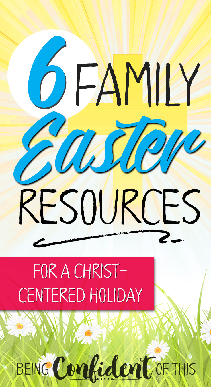 Make the most of Easter with these Christ-centered Easter resources! Use devotionals, activities, books, movies, etc. to point your family to Jesus.  keep Christ in Easter, Easter and Jesus, Christian Easter resources, Christian family