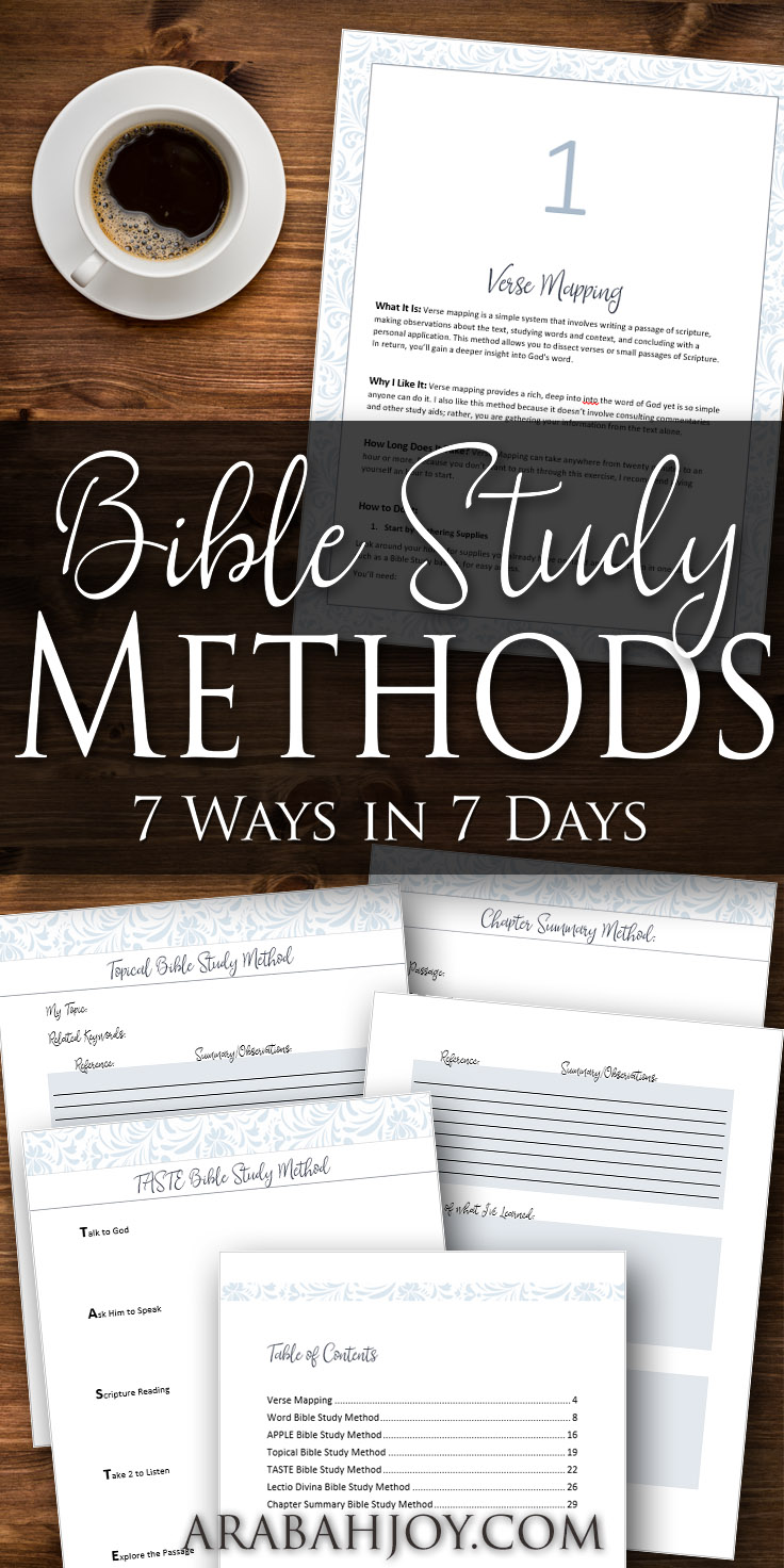 Do you feel like you're not getting much when you read the Bible? Is it hard to understand, or are you not really sure where to start? This Bible study course will teach you how to find a method that works for you. Don't just read it - instead, really study the Bible! better bible study, christian women, how to study the bible, study God's Word, how to read the Bible, ways to study the bible, spiritual growth, growing in Chirst